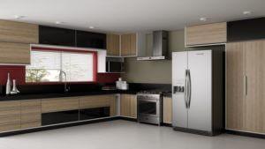foto ilustrativa cozinha pequena planejada zona leste
